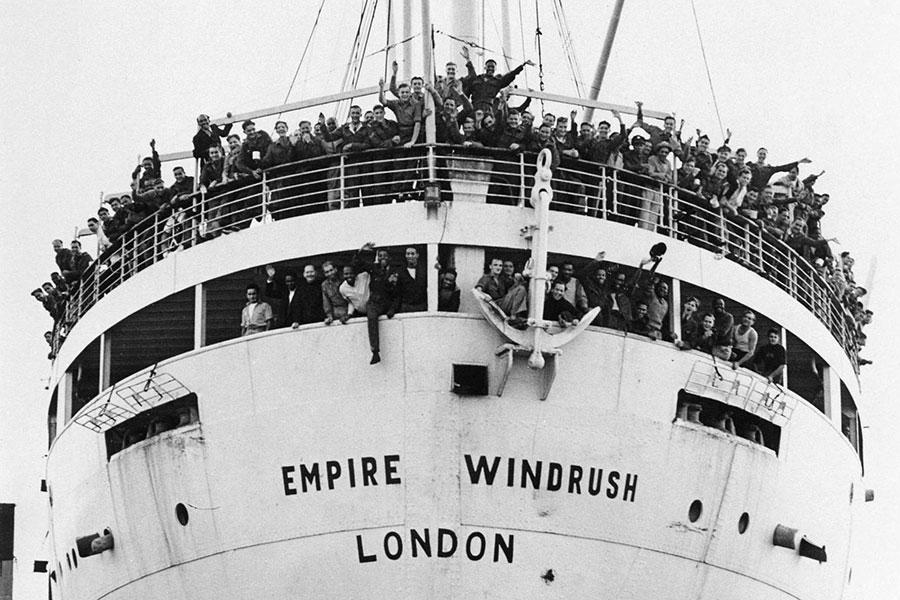 Empire Windrush, London
